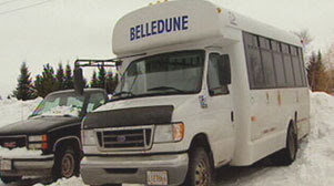 Belledune Village bus