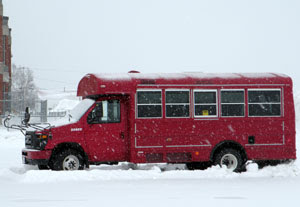 Bathurst High School's 21 passenger MFAV