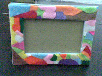 motif bingkai frame wedding