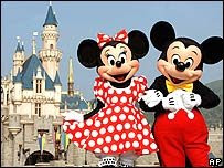 MICKEY Y SU NOVIA MINIE