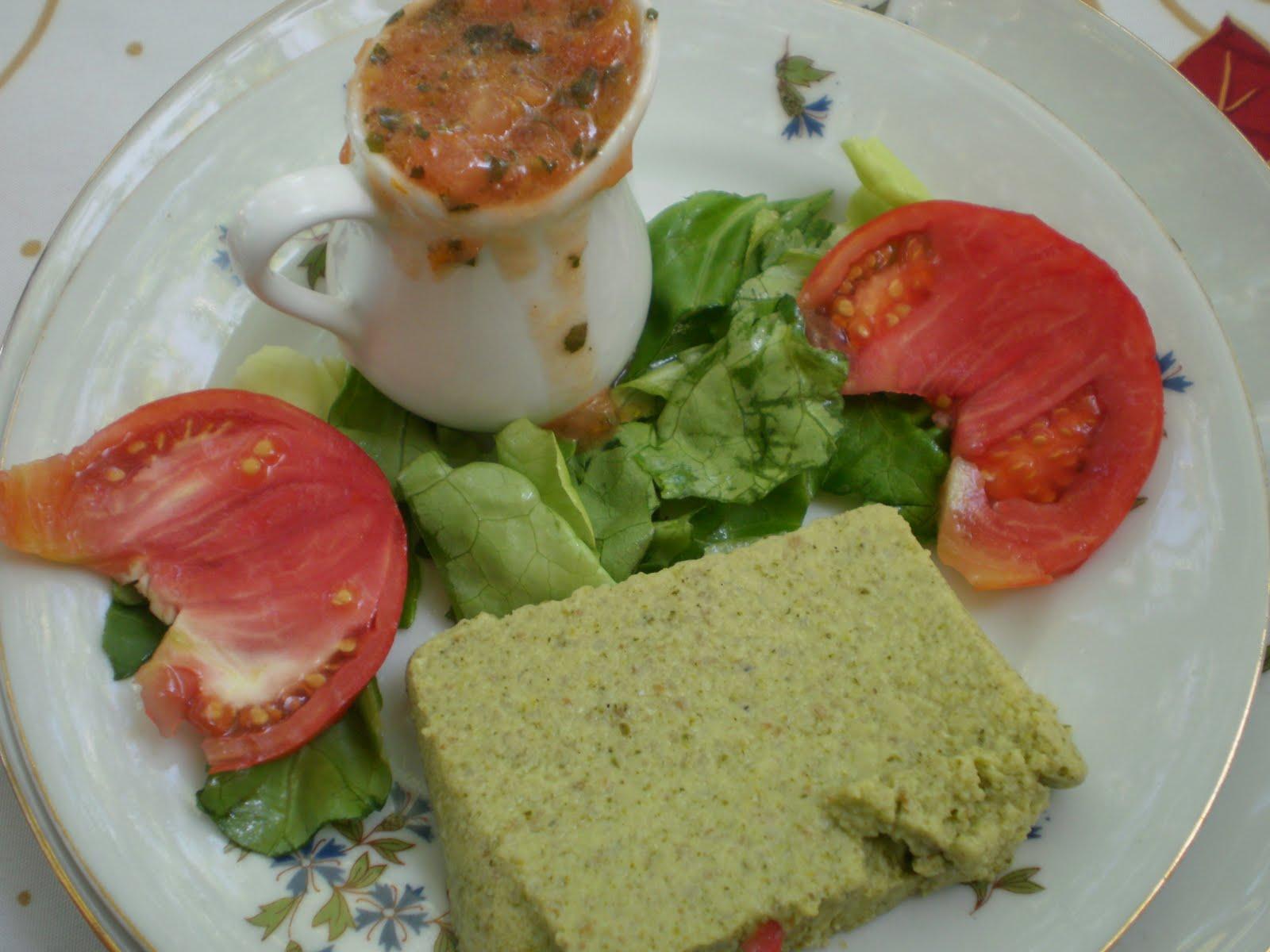 Terrine courgette basilic et tartare de tomates thermomix - Courgettes farcies thermomix ...