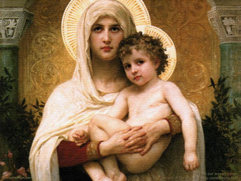 Virgem Maria, Nossa Senhora, Maria santíssima