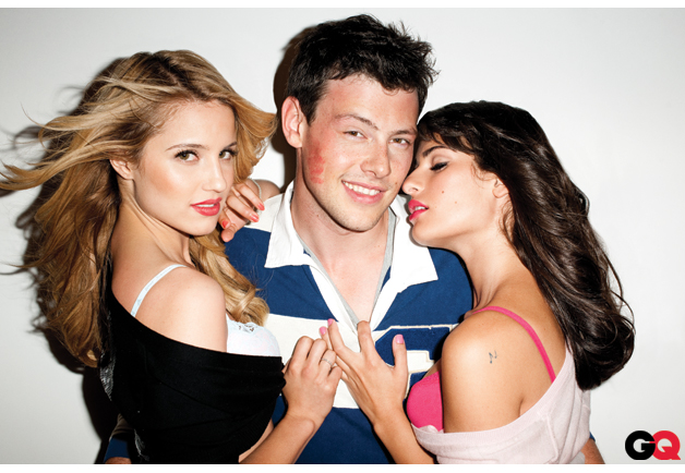 Glee's Dianna Agron on Sexy GQ Photo Shoot with Lea Michele & Cory Monteith: