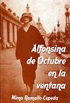 Alfonsina de Octubre en la ventana