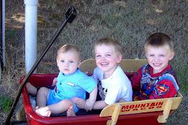 My 3 little boys
