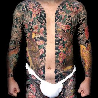 La Pluma Del Angel Negro Tattoo Japones