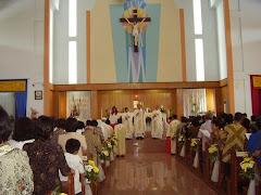 Peresmian Gereja St. Mikael Perkamil