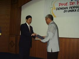 Perpisahan Koordinator Kopertis Wil IX Sulawesi
