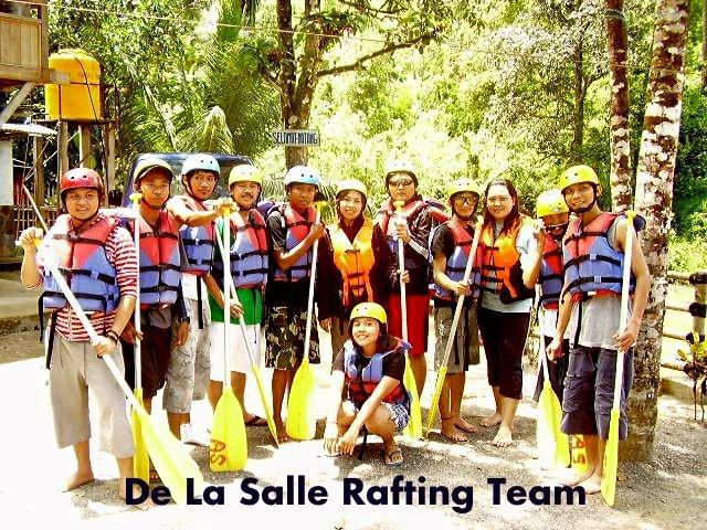 De La Salle Rafting Team