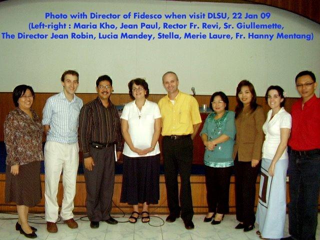 Foto dengan Fidesco