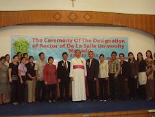 Foto bersama dlm Acara Pelantikan Rektor