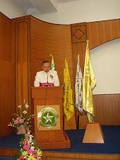 sambutan uskup Mgr. J. Suwatan, MSC