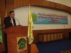 sambutan Ketua Yayasan Pst Hanny Mentang