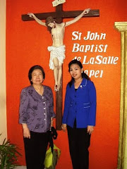 Stella & Ibu Cecilia Lauw, Rektor Unpar, Bandung