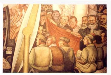 Murales de m xico guia de murales for Mural prepa 1 uaemex