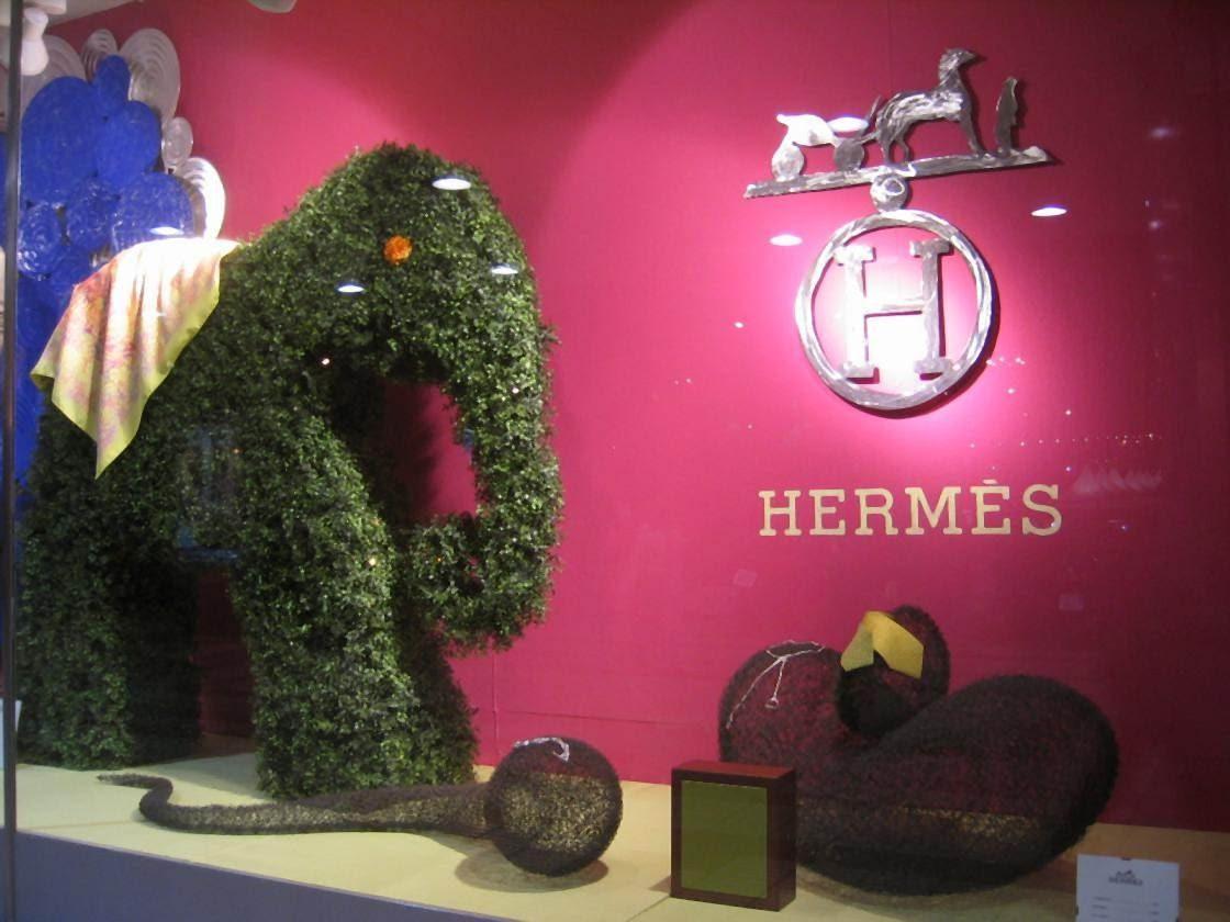 Escaparate Hermes Madrid