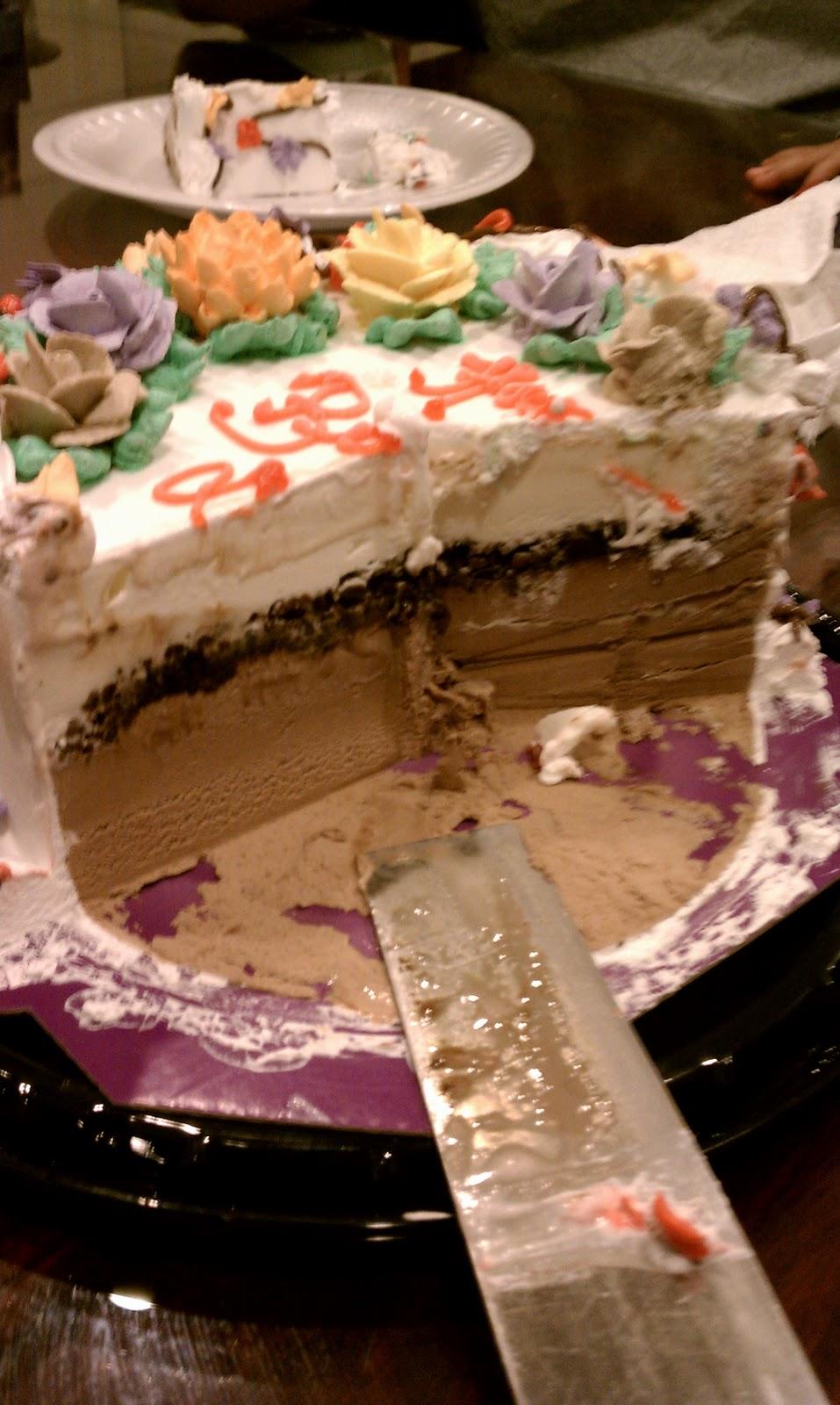 Tasty Eating Carvel Ice Cream Cake