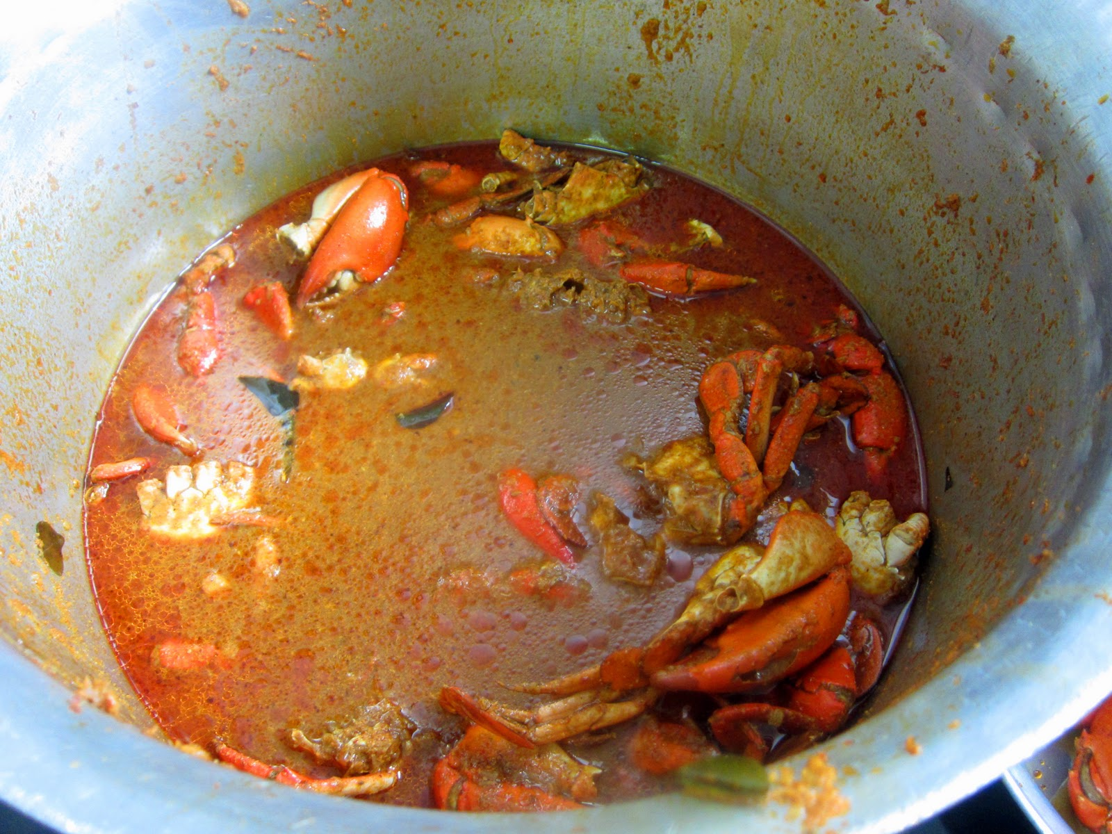how to make indian crab curry