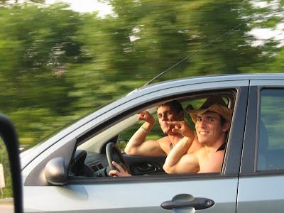 En coche por el Oeste