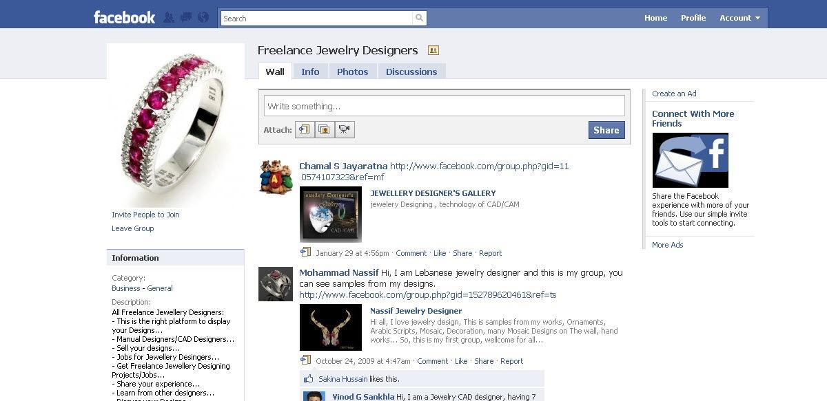jewelry cadcam community Freelance jewelry designer on facebook