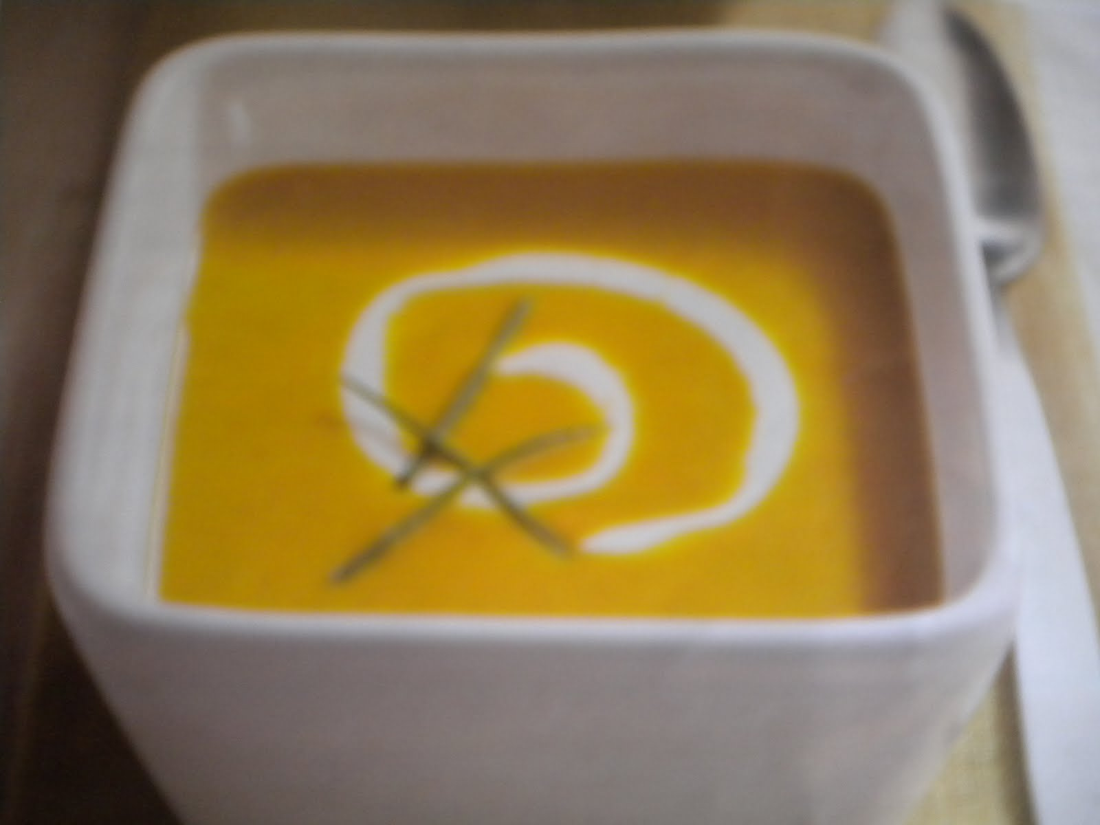 Delicious Dixie: Curry Scented Butternut Squash Soup