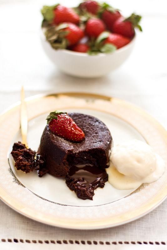 Rachel Khoo Salted Caramel Lava Cake Recipe