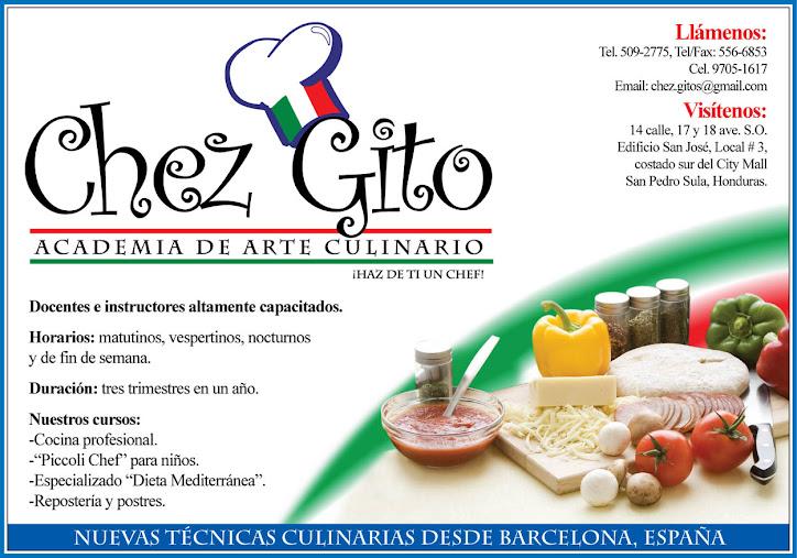 Academia de arte culinario chez gito for Formacion profesional cocina