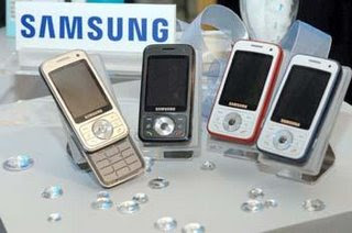 Taiwan market: Samsung aims to ship 1.8 million handsets in 2008