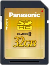 PANASONIC SHOWCASES WORLD'S FIRST* PROTOTYPE OF 32GB SDHC MEMORY CARD, WITH FAST SPEEDS TO CAPTURE HD VIDEOS