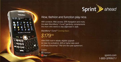 CDMA BlackBerry Curve 8330