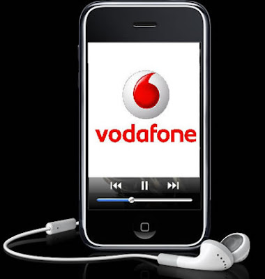 Vodafone with iphone