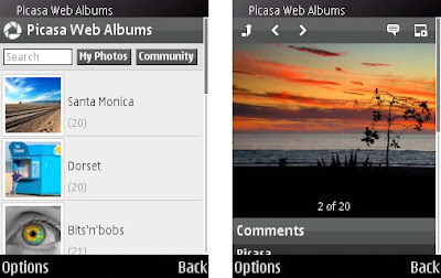 Google Picasa Now Available for S60 Phones