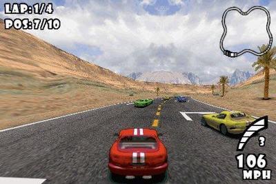 Racing iPhone game