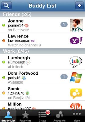 BeejiveIM chat client