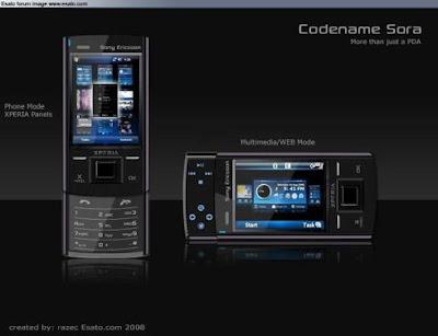 mid-end Sony Ericsson XPERIA