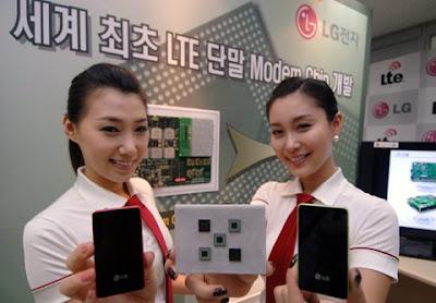 LG Developed LTE Chips