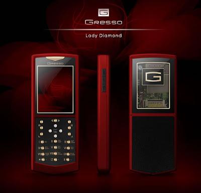 Gresso Lady Diamond Luxury Phone