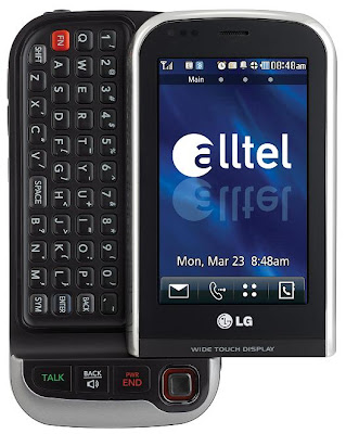 Alltel Wireless Launches the LG Tritan
