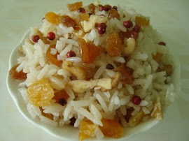 ARROZ COM FRUTOS SECOS