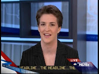 Media darling Rachel Maddow