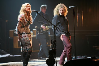 rp Robert Plant and Allison Krauss at ACL