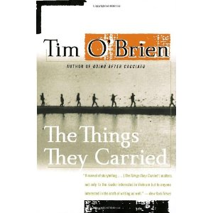 courageous fear in the things they carried by tim obrien Tim o'brien: well, the things they carried was written a long time after the war was over, so it was written from the perspective of someone looking back on the war the theme of the book, the things they carried -ultimately has to do with the things we all carry through our lives.