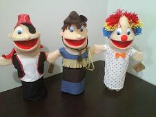 Pirata, Cawboy e Palhaço