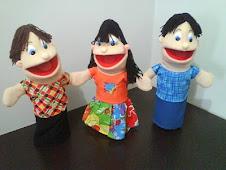 Crianças - Mateus, Rosinha e André