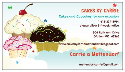 Cakes By Carrie Mettendorf