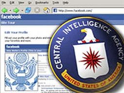 facebook y la cia
