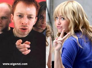 miley vs. radiohead