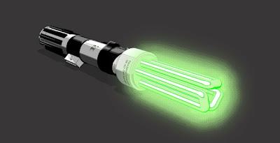 espada laser ahorradora