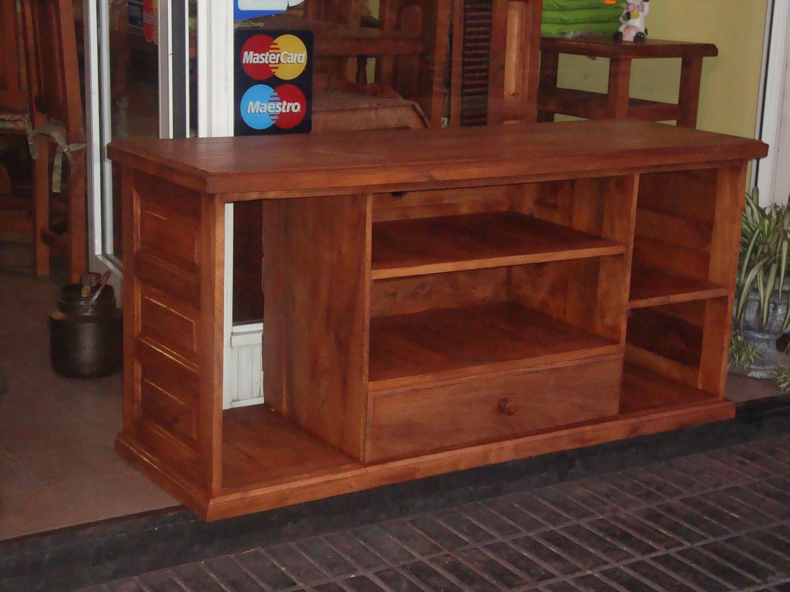 mesa de tv de 1.40mts x0.60 ideal para lcd.
