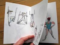 Tok, livre d'artiste en impression numérique - cirque